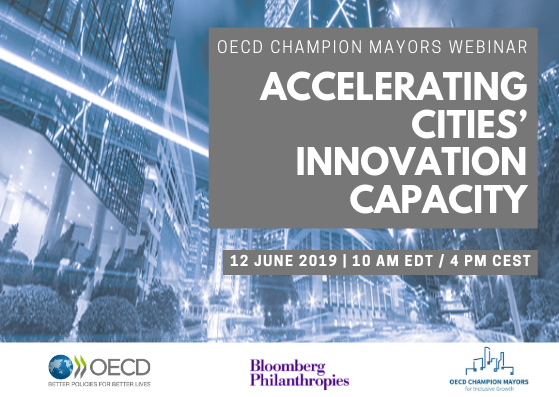 Webinar- Accelerating Cities' Innovation Capacity